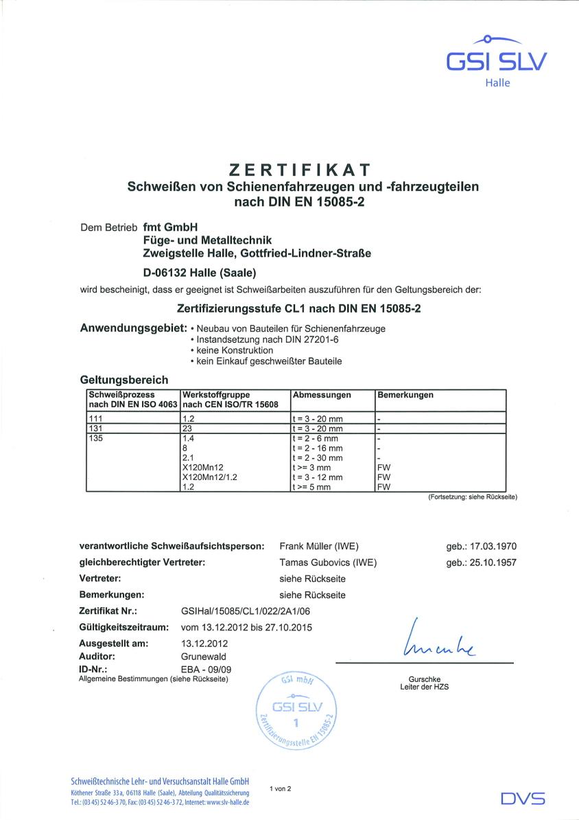 Zertifikat Schweissen nach DIN EN 15085-2_Seite1_1-kl